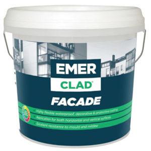Emer clad facade